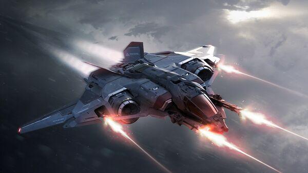 Bild des Raumschiffs Sabre