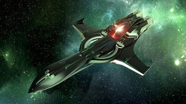 Bild des Raumschiffs P72 Archimedes Emerald