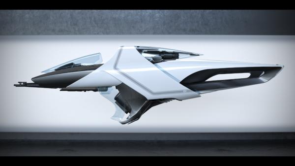 Bild des Raumschiffs X1 Base