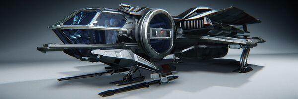 Bild des Raumschiffs Aurora MR