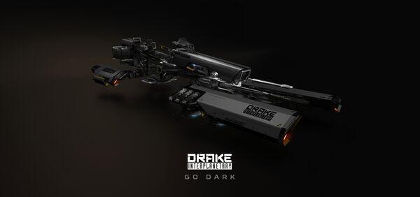 Bild des Raumschiffs Dragonfly Black