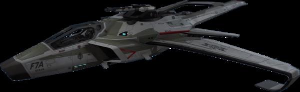 Bild des Raumschiffs F7A Hornet