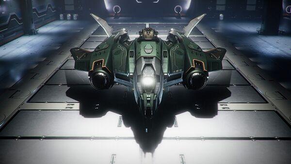 Bild des Raumschiffs Vanguard Hoplite