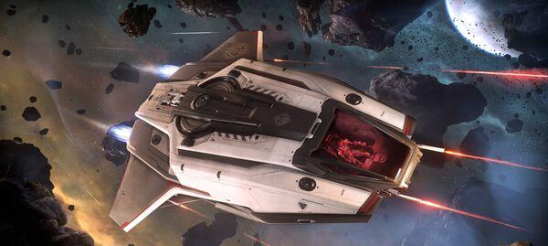 Bild des Raumschiffs C8X Pisces Expedition