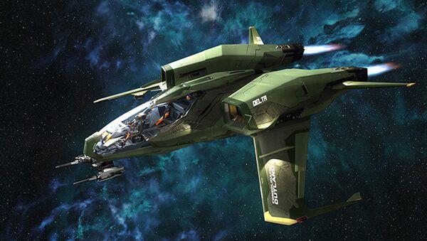 Bild des Raumschiffs Mustang Delta