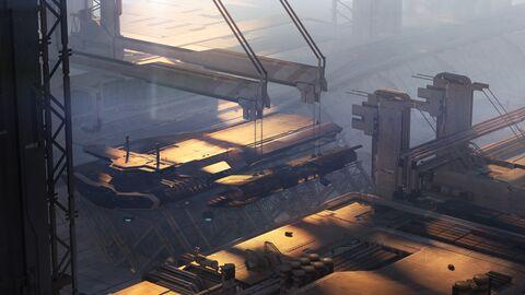 CNOU Pioneer im Dock.jpg