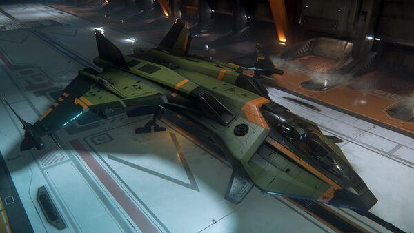 Bild des Raumschiffs Gladius Valiant