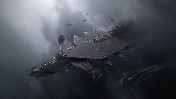 Bild des Raumschiffs Kraken