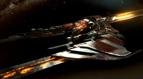 Bild des Raumschiffs Glaive
