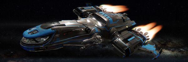 Bild des Raumschiffs Freelancer MAX