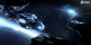 MISC Prospector im Flug hinten im Asteroidenfeld.jpg