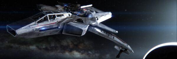 Bild des Raumschiffs F7C-M Super Hornet