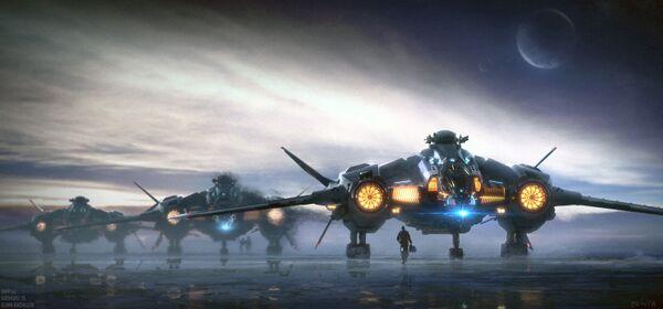 Bild des Raumschiffs Vanguard Warden