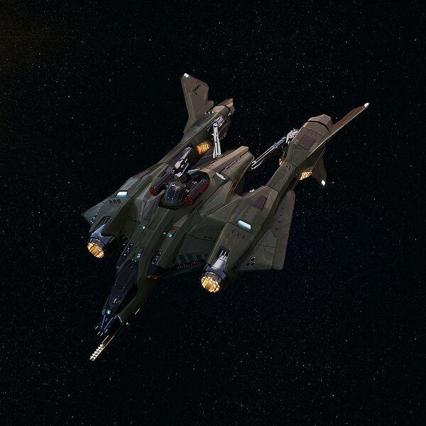 Bild des Raumschiffs Vanguard Harbinger