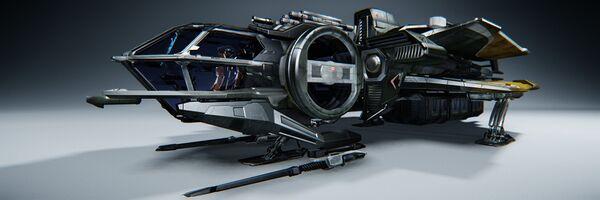 Bild des Raumschiffs Aurora LN