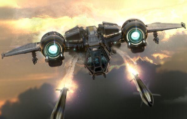 Bild des Raumschiffs Buccaneer