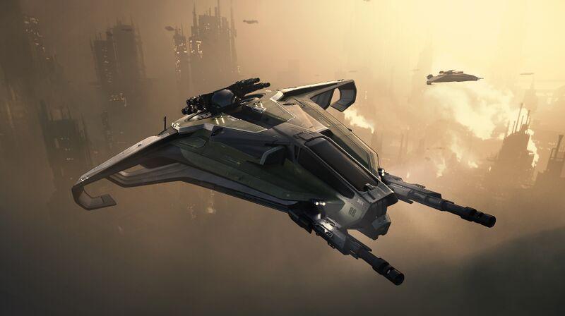 Konzeptzeichnung der Anvil Aerospace Hurricane