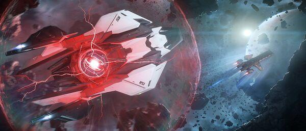 Bild des Raumschiffs Mantis