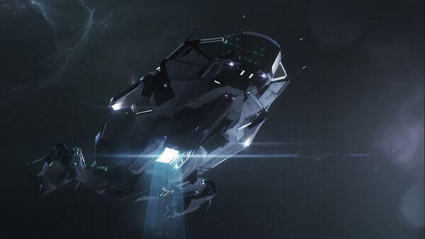 Bild des Raumschiffs Apollo Medivac