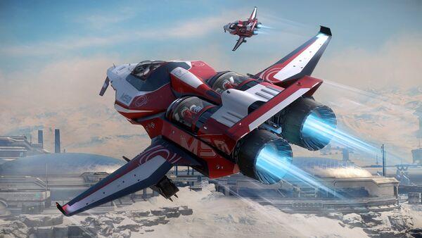 Bild des Raumschiffs M50