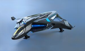 AEGS Sabre Raven Frontansicht links.jpg