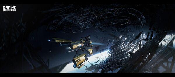 Bild des Raumschiffs Dragonfly Yellowjacket