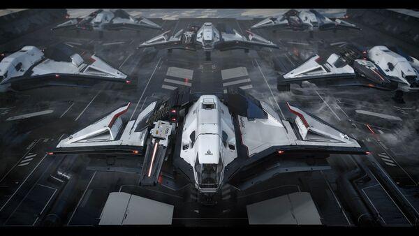 Bild des Raumschiffs Ares Ion