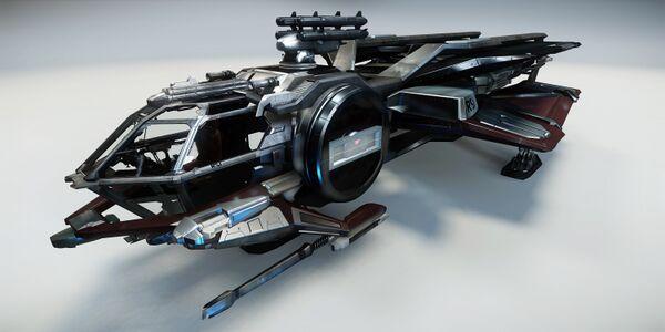 Bild des Raumschiffs Aurora LX