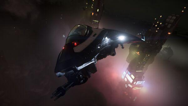 Bild des Raumschiffs Avenger Stalker