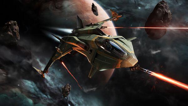 Bild des Raumschiffs Gladius