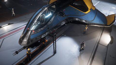 AEGS Avenger Titan Renegade Frontansicht links Vogelperspektive.jpg