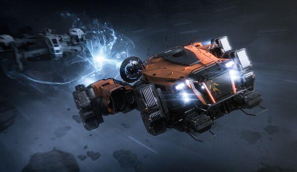 Bild des Raumschiffs SRV