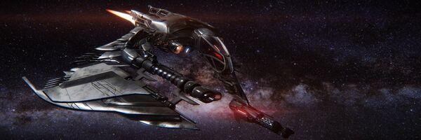Bild des Raumschiffs Scythe