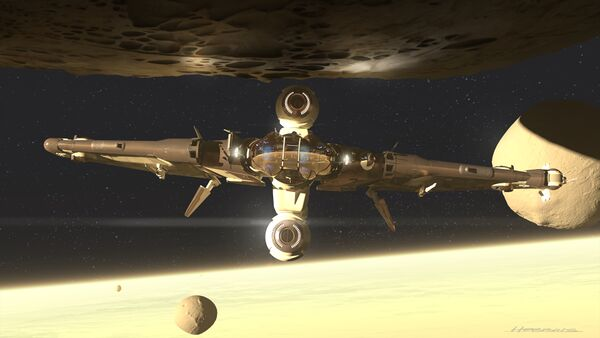 Bild des Raumschiffs Reliant Sen