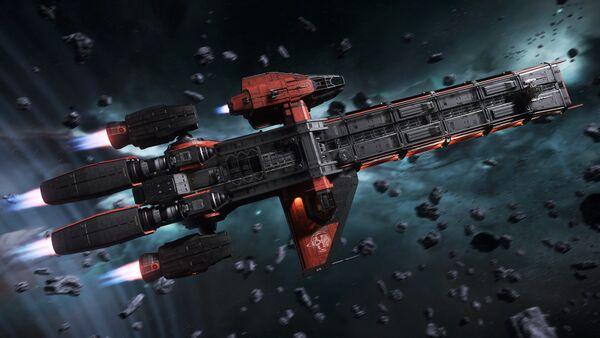 Bild des Raumschiffs Caterpillar Pirate Edition