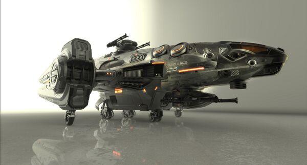Bild des Raumschiffs Redeemer