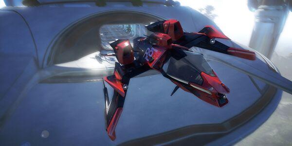 Bild des Raumschiffs Mustang Omega