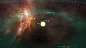 Bild des Chronos Sternensystem