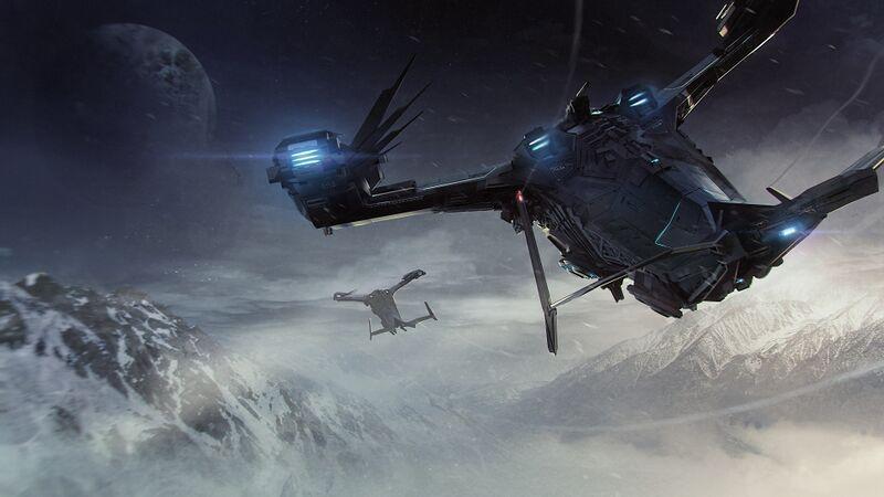 Eine Esperia Prowler im Flug