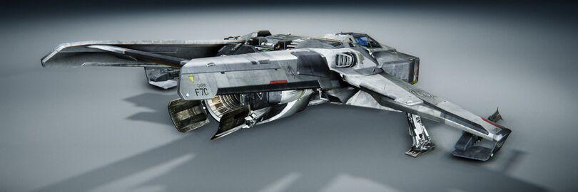 ANVL F7C Hornet gelandet hinten rechts.jpg