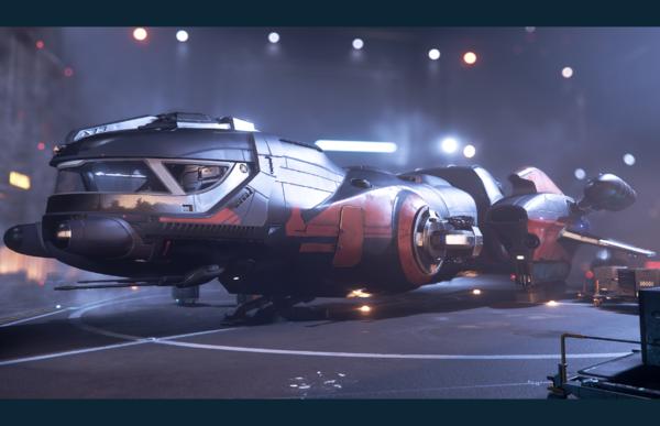 Bild des Raumschiffs Freelancer DUR