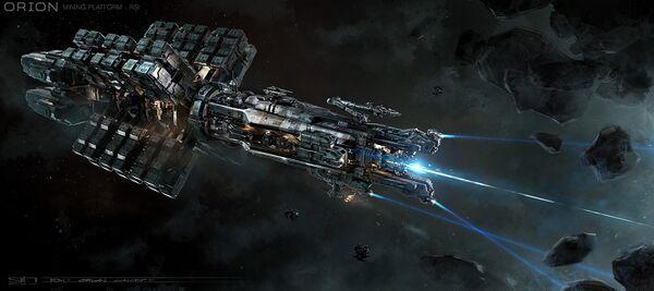 Bild des Raumschiffs Orion