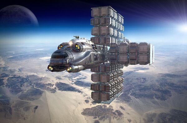 Bild des Raumschiffs Hull C