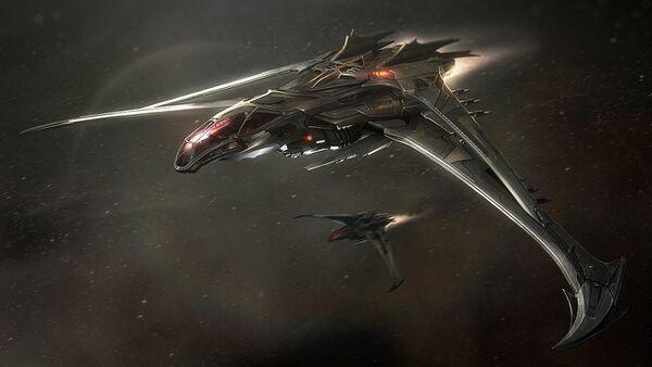 Bild des Raumschiffs Blade
