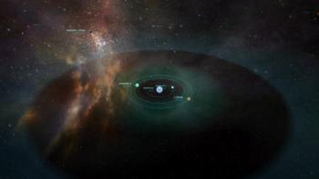 Bild des Banshee Sternensystem