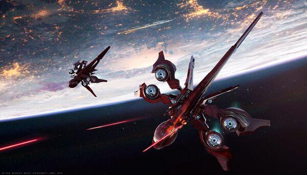 Bild des Raumschiffs Khartu-Al