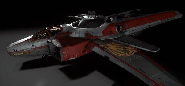 Bild des Raumschiffs F7C Hornet Wildfire