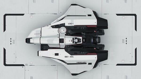 Bild des Raumschiffs Mercury Star Runner