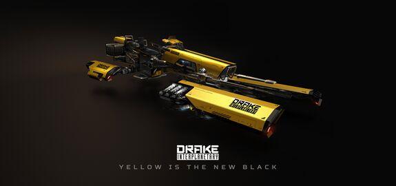 DRAK Dragonfly Yellowjacket Frontansicht rechts Poster.jpg