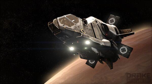 Bild des Raumschiffs Herald